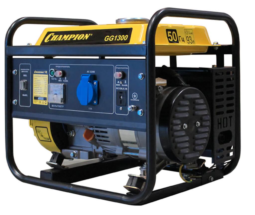 Генератор Champion GG1300 бензиновый