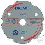 Отрезной круг с карбидным напылением Dremel DSM500