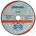 Отрезной круг для камня Dremel DSM520 (2шт.)