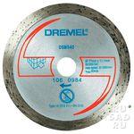 Отрезной алмазный круг Dremel DSM540 для плитки