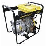 Мотопомпа Champion DTP80E дизельная для грязной воды