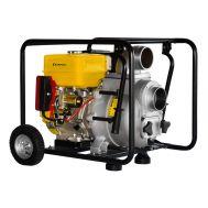Мотопомпа Champion GTP101E бензиновая для грязной воды