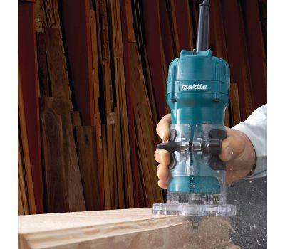 Кромочный фрезер Makita 3709 в работе
